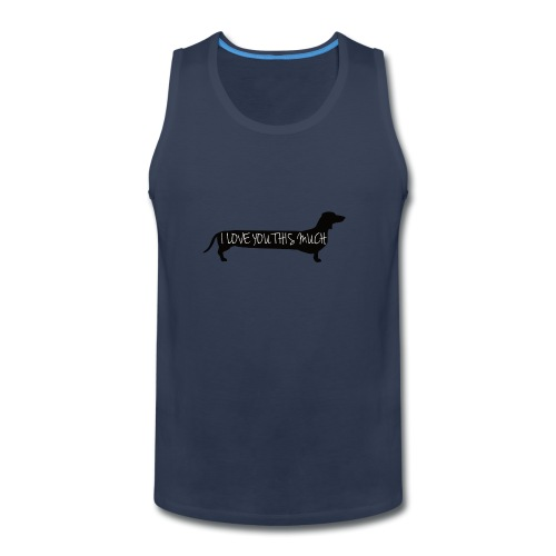 Dachshund Love - Men's Premium Tank