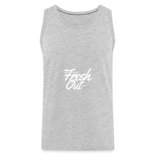 Fresh Out Beats Logo 24 - Men's Premium Tank