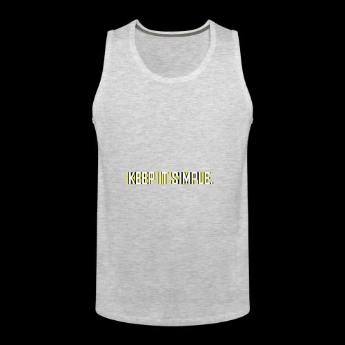 Keep It Simple - Men's Premium Tank