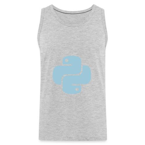 Python Logo - Men's Premium Tank