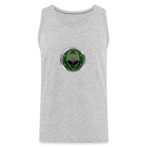 New Alien Investigations Head Logo - Men's Premium Tank