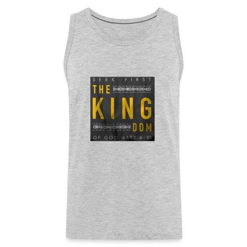 Seek The Kingdom - Men's Premium Tank