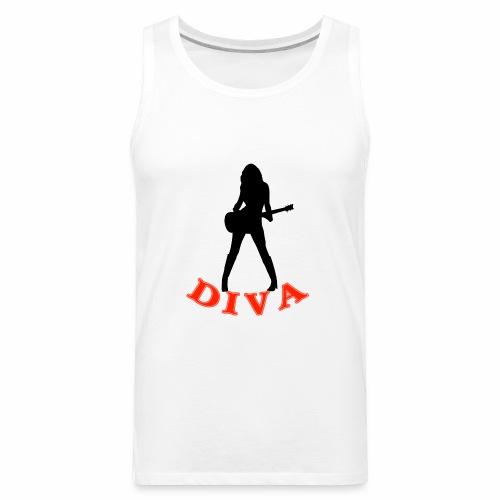 Rock Star Diva - Men's Premium Tank
