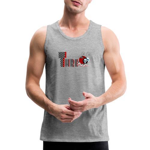 3nd Year Family Ladybug T-Shirts Gifts Daughter - Men's Premium Tank