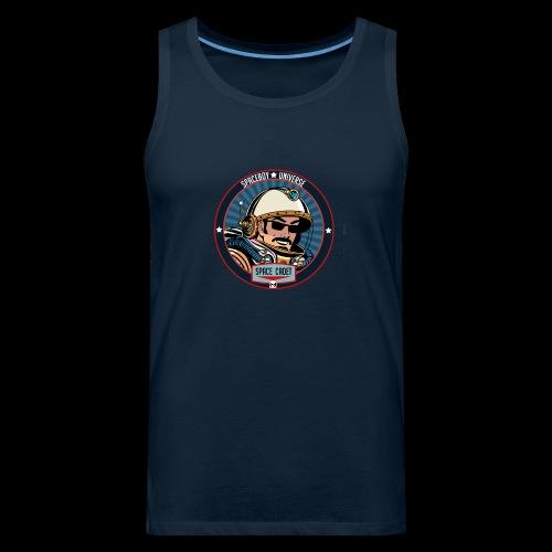Spaceboy - Space Cadet Badge - Men's Premium Tank