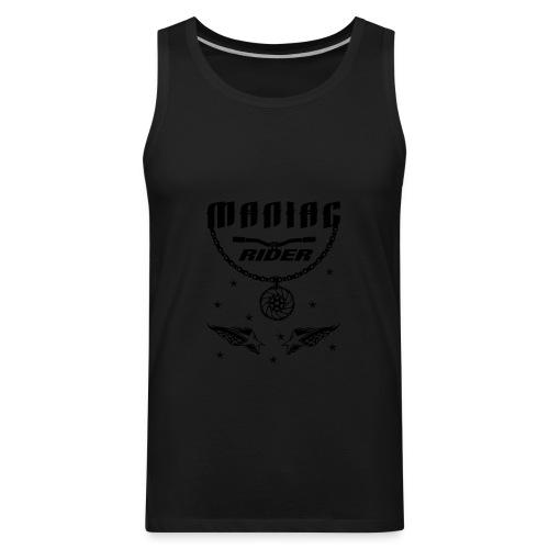 Maniac Rider Downhill Mountainbike bike-rider - Men's Premium Tank