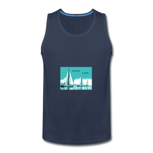 Beautiful Croatia - Men's Premium Tank