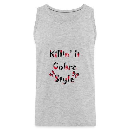 Killin' It Cobra - Men's Premium Tank