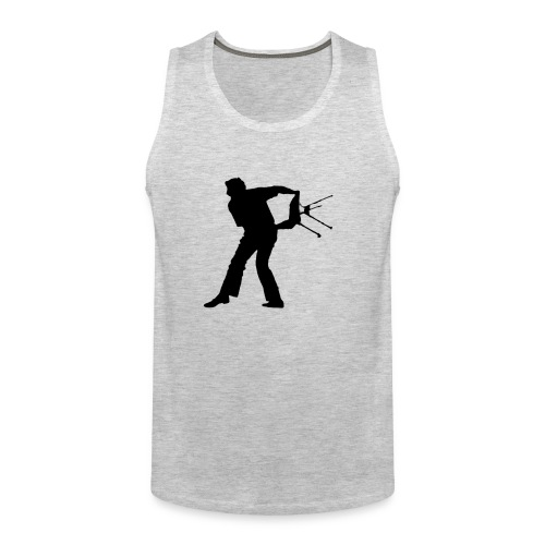 Chair Throwing Black - Men's Premium Tank