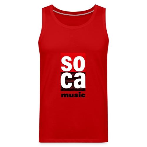 Soca music - Men's Premium Tank