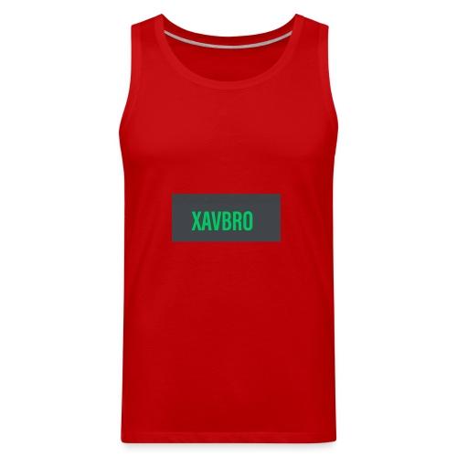xavbro green logo - Men's Premium Tank