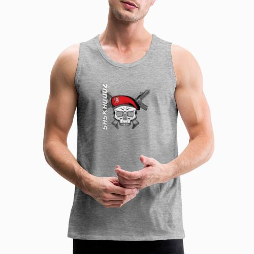 saskhoodz skull - Men's Premium Tank