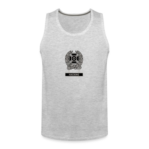 Expert Hacker Qualification Badge - Men's Premium Tank