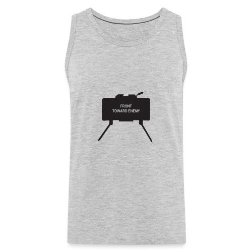 Claymore Mine (Minimalist/Dark) - Men's Premium Tank