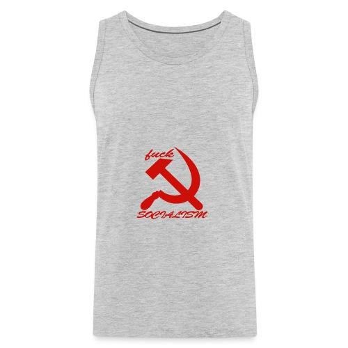 fuck socialism - Men's Premium Tank