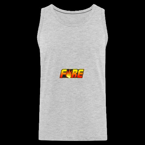 FyRe Logo - Men's Premium Tank