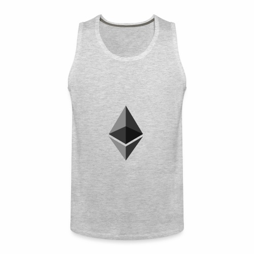 ethereum icon brand - Men's Premium Tank