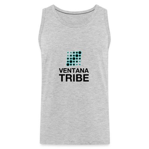 Ventana Tribe Black Logo - Men's Premium Tank