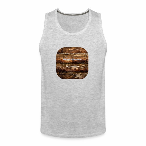 "InovativObsesion ""LOGGED IN"" apparel - Men's Premium Tank"