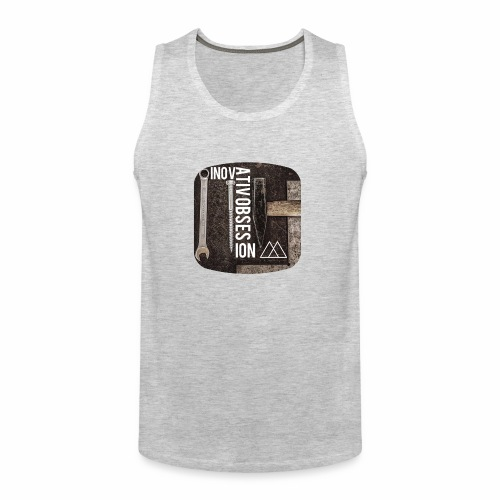 "InovativObsesion ""MECHANICAL"" apparel - Men's Premium Tank"