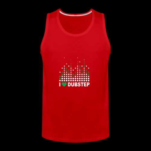 I heart dubstep - Men's Premium Tank