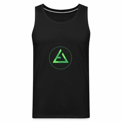 crypto logo branding - Men's Premium Tank