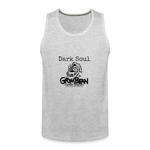 Grim Bean Coffee Company Dark Soul - Men's Premium Tank