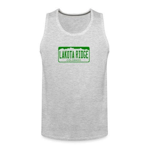 Lakota Ridge License Plate - Men's Premium Tank