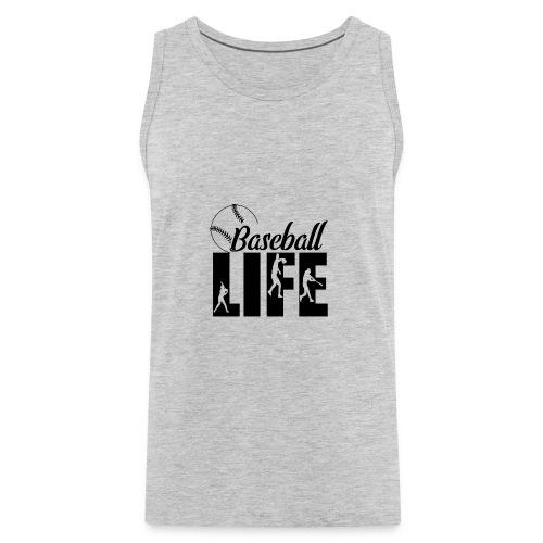 Baseball life - Men's Premium Tank