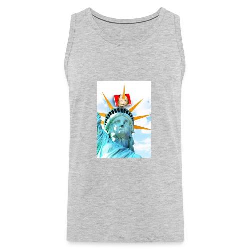 Lady Liberty Spikes Hillary - Men's Premium Tank