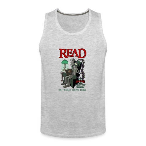 Read At Your Own Risk - Miskatonic U - Men's Premium Tank
