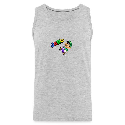 TheJabuBros Luigi Sprite Shirt - Men's Premium Tank