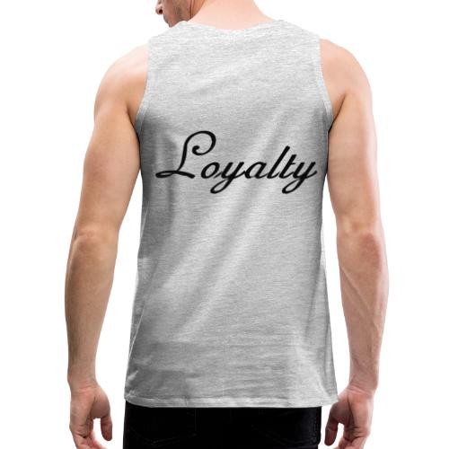 Loyalty Brand Items - Black Color - Men's Premium Tank