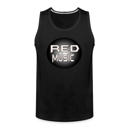 Red Music Logo 2017 - Men's Premium Tank