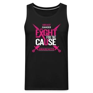 Breast Cancer Awareness - Men's Premium Tank