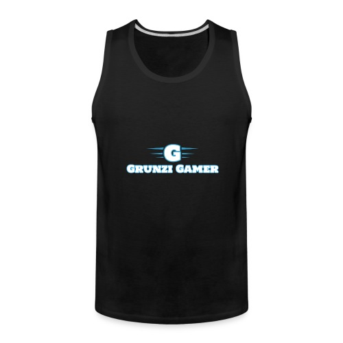 logo and channel name - Men's Premium Tank