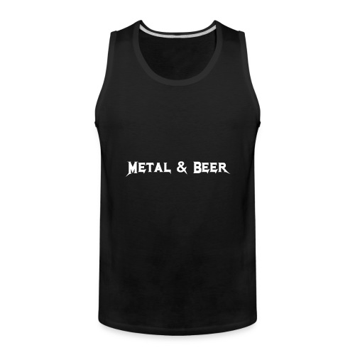 metalbeer_ok - Débardeur Premium pour hommes
