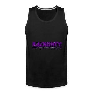 ROCKISSITY the Black Light Logo - Men's Premium Tank
