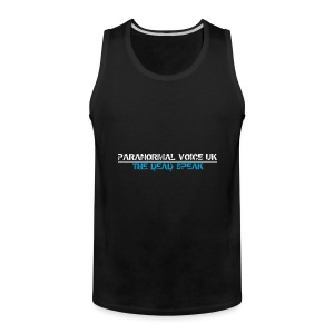 PARANORMAL VOICE UK +SIZE HOODY - Men's Premium Tank