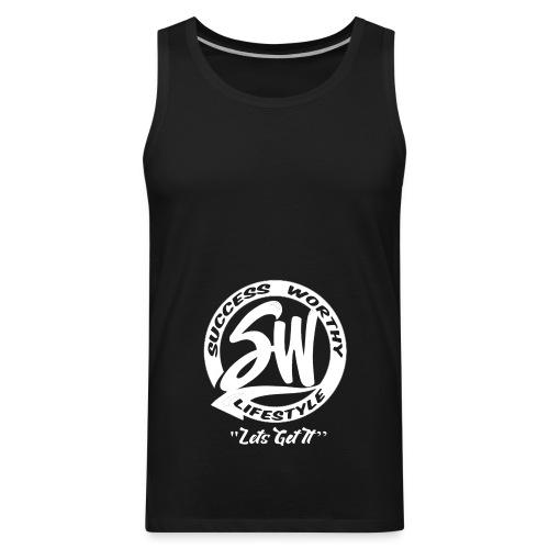 SW_white - Men's Premium Tank