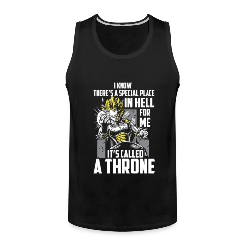 Dbz V Shirt - Men's Premium Tank