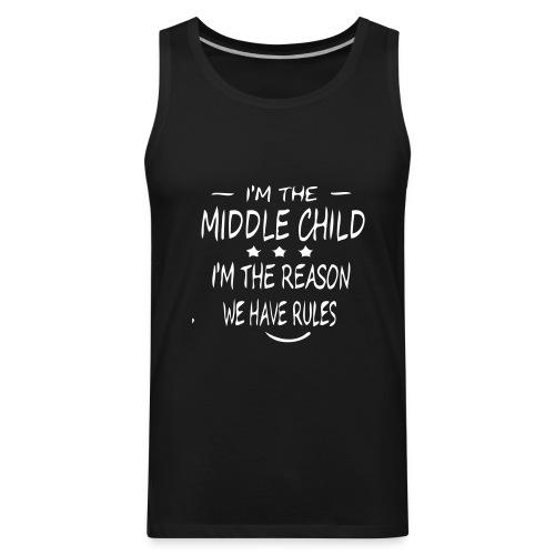 middle child - Men's Premium Tank