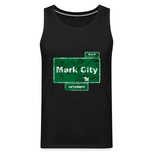 Mark City - Men's Premium Tank