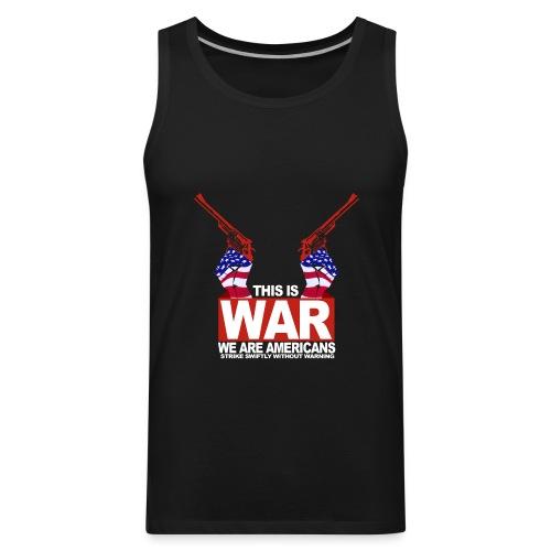 War USA - Men's Premium Tank