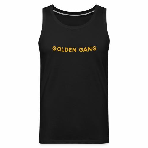 GoldenGang   Name Plate   - Men's Premium Tank