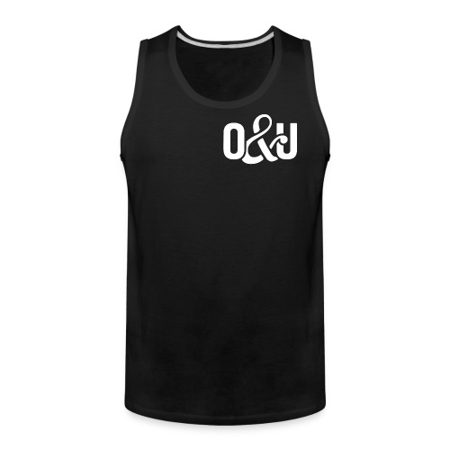 Outcasts and Underdogs logo - Men's Premium Tank