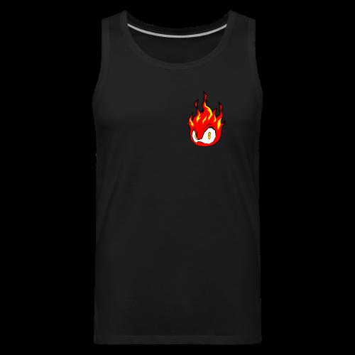 Fire Power YouTube Logo - Men's Premium Tank
