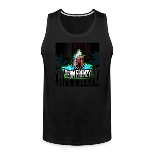Team Frenzy Logo - Men's Premium Tank
