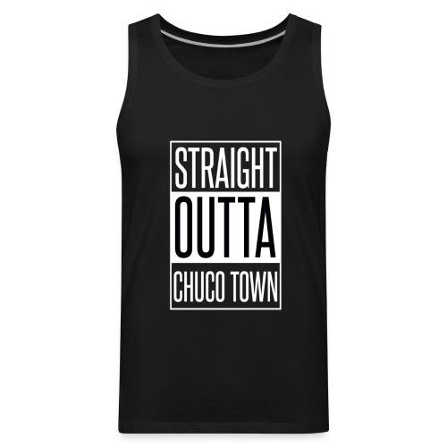 Straight Outta Chuco Town T-Shirts - Men's Premium Tank