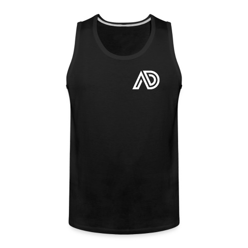 Basic White Logo - Men's Premium Tank
